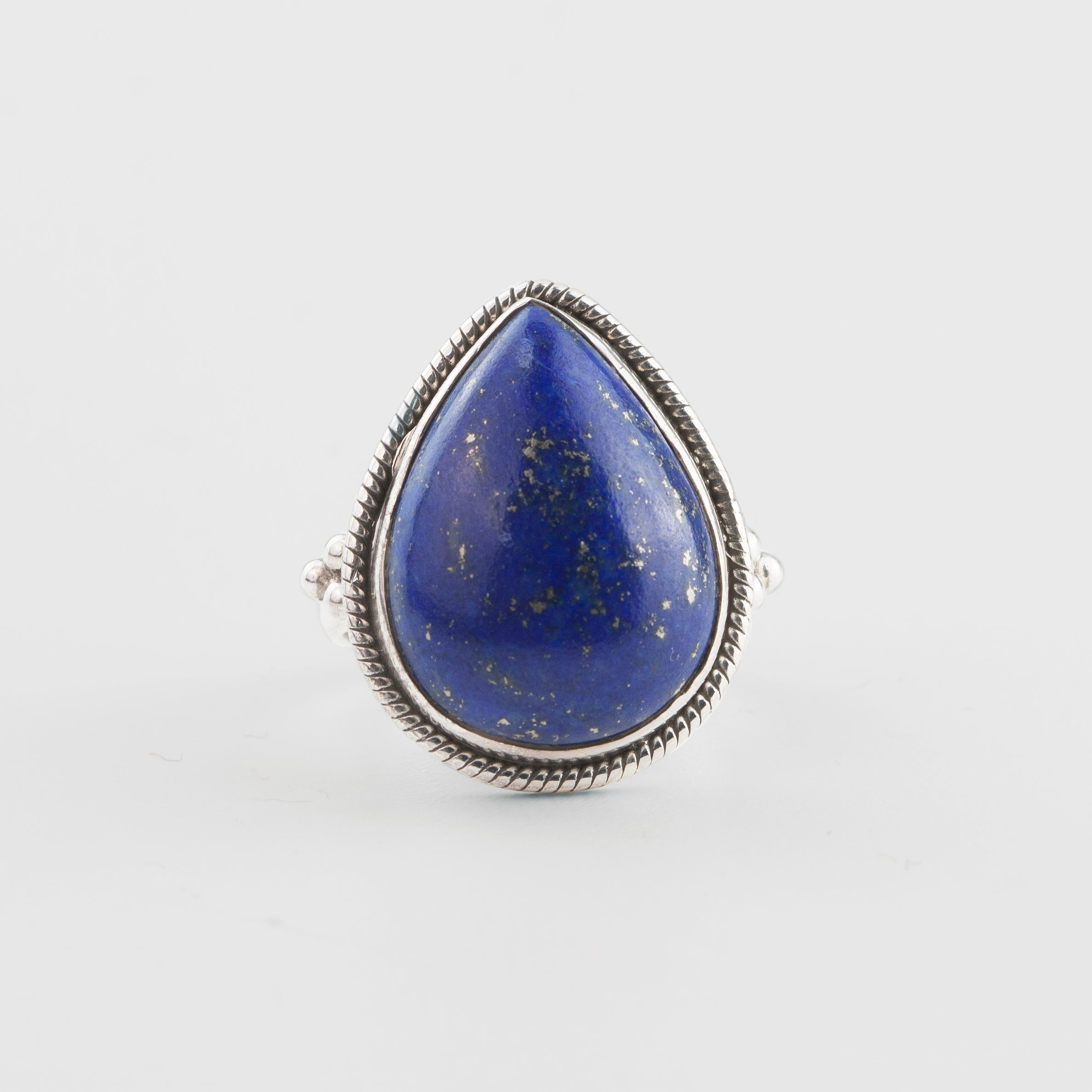 Image of Ellen Lapis Lazuli Sterling Silver Ring