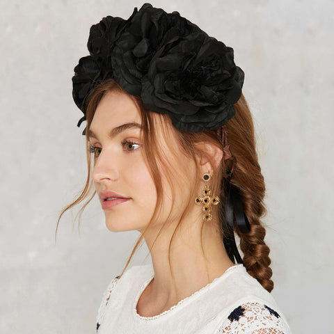 OPHELIA Floral Crown Headband