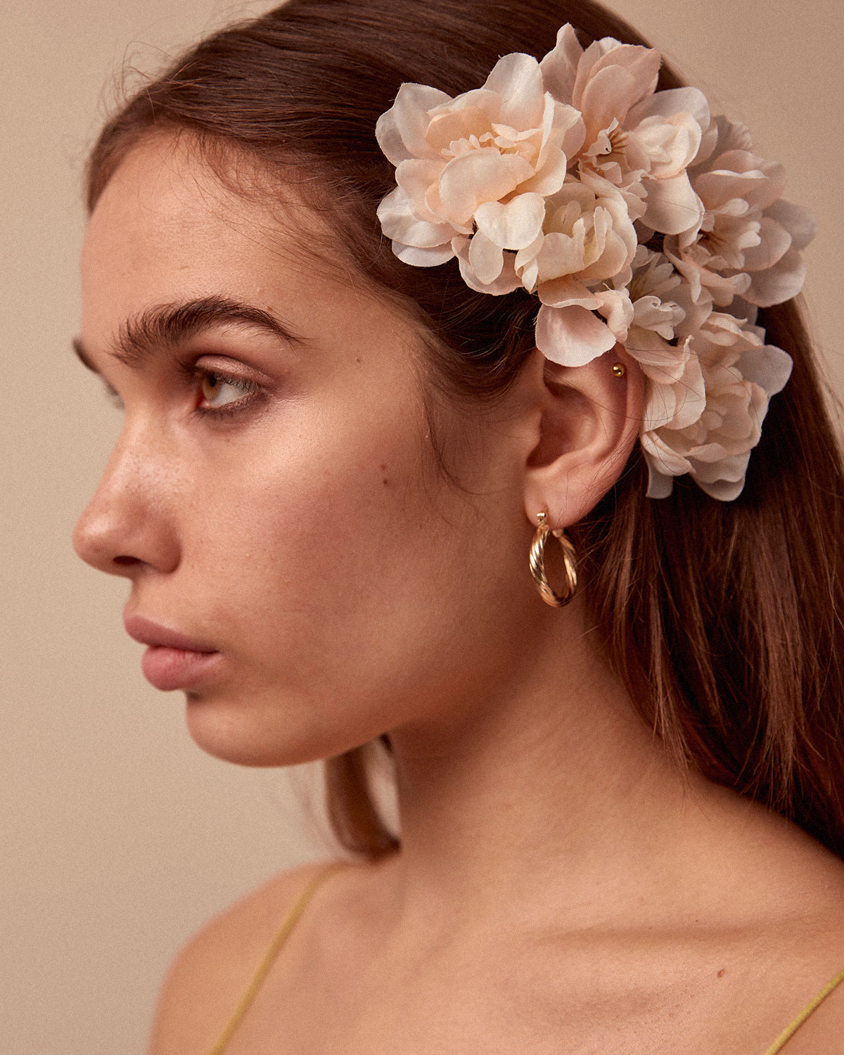 Image of Franny Flower Hair Pins - Blush
