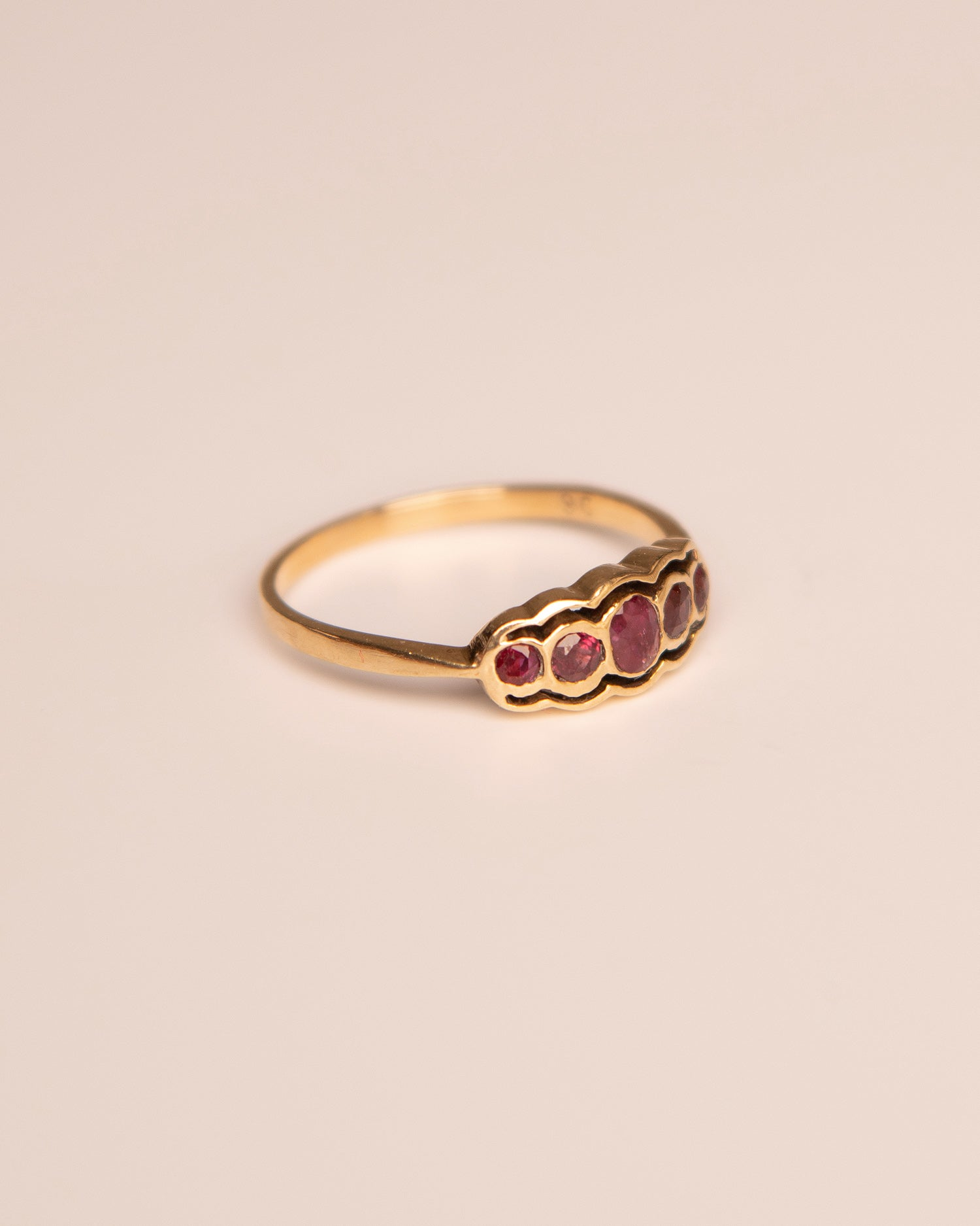 Rosalyn 9ct Gold Vintage Ruby Ring