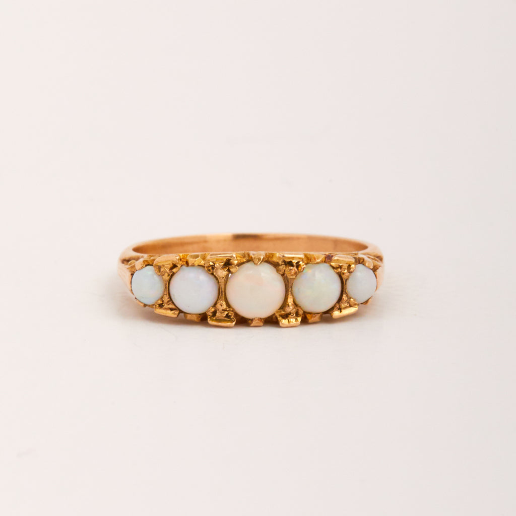 Image of Dolly Exclusive Vintage 9ct Gold Opal Ring