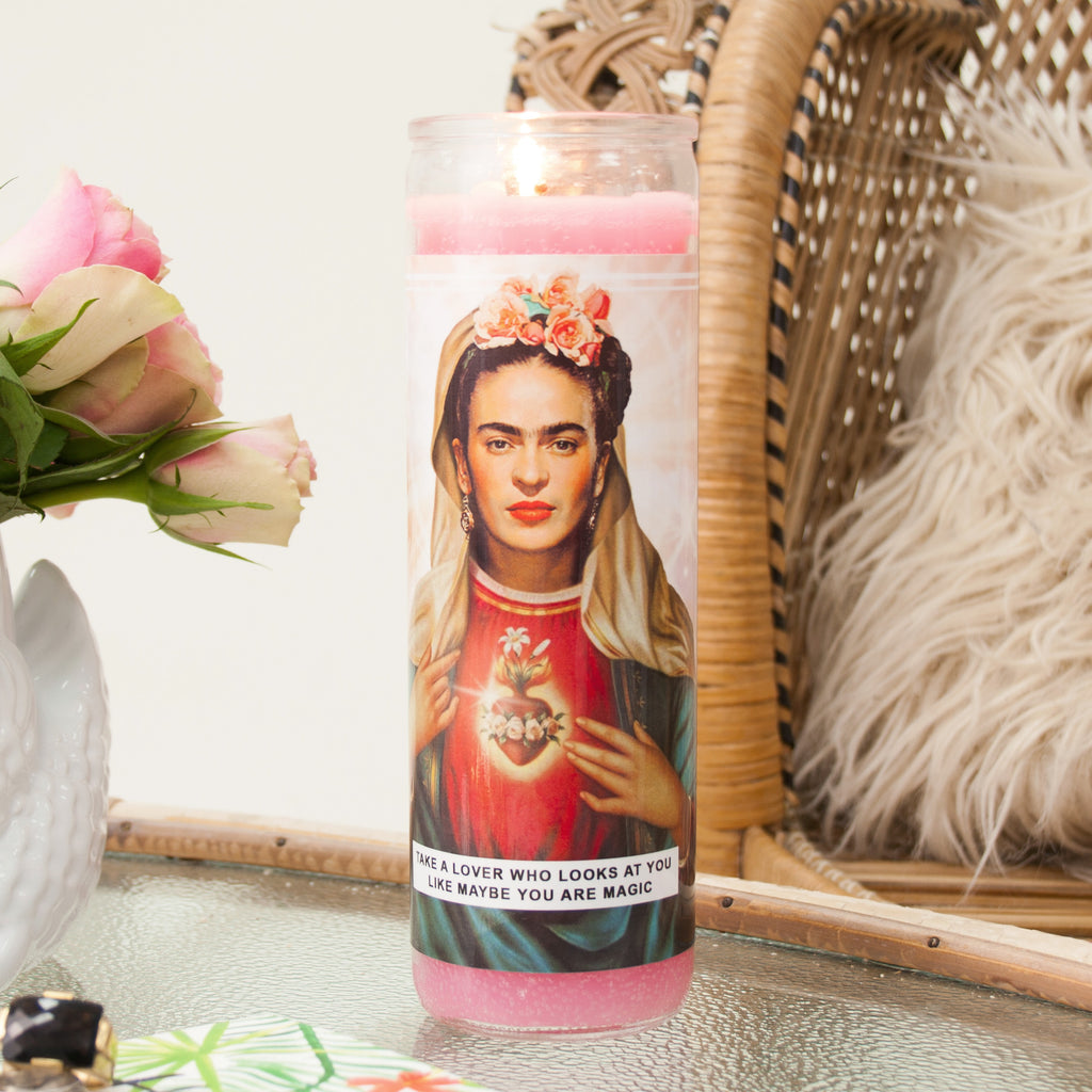 Saint Frida Prayer Candle