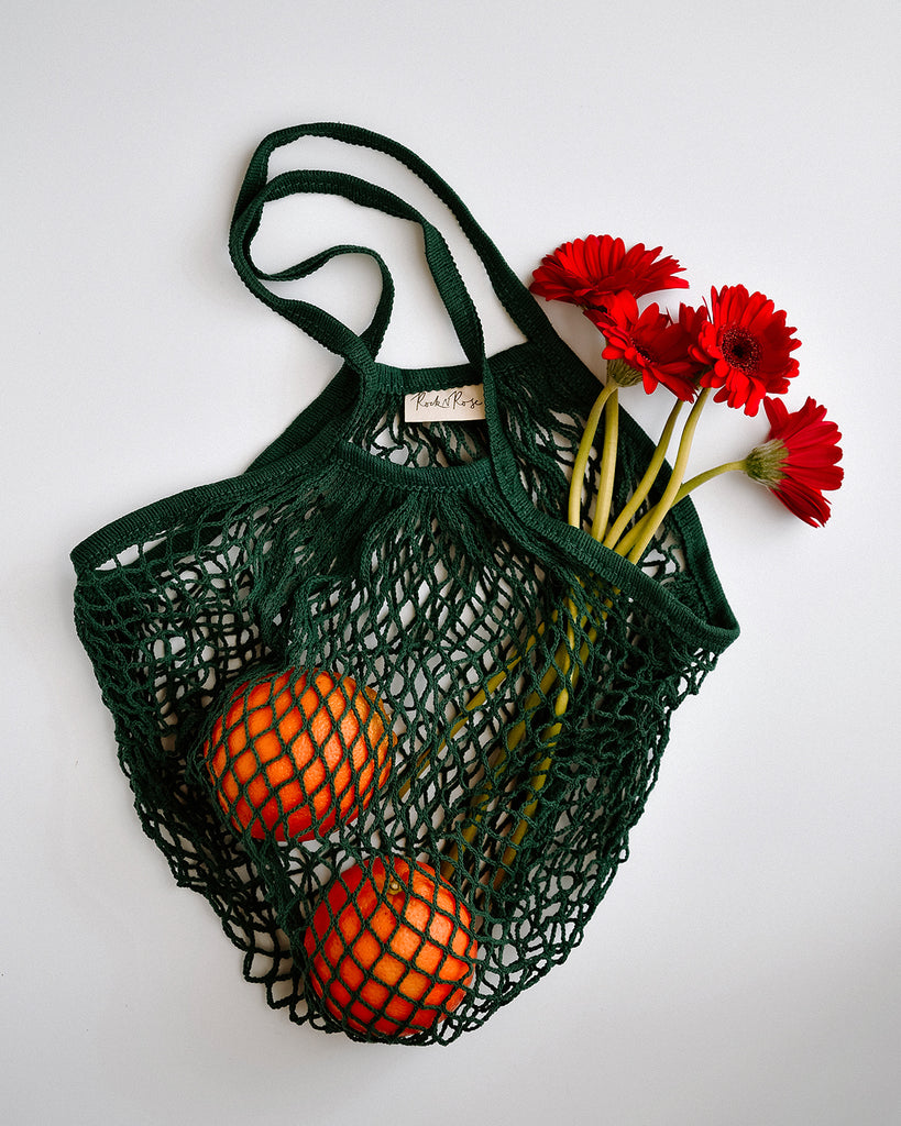 Savannah String Shopper Bag - Green