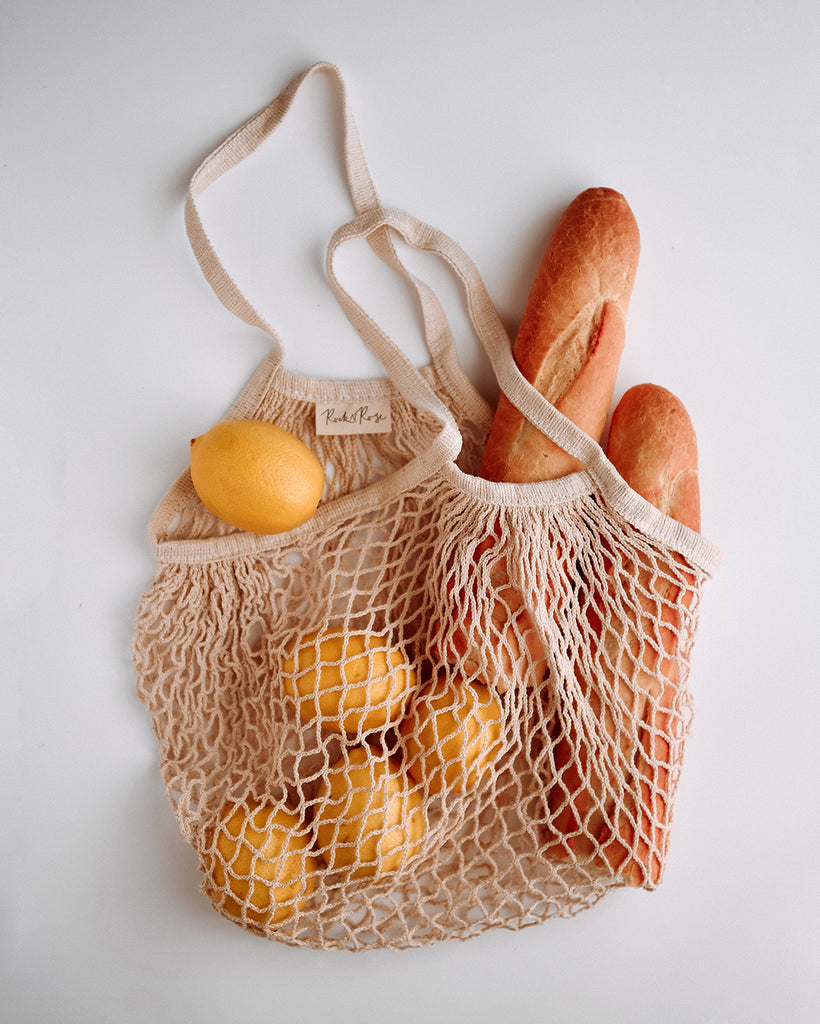 Savannah String Shopper Bag - Natural