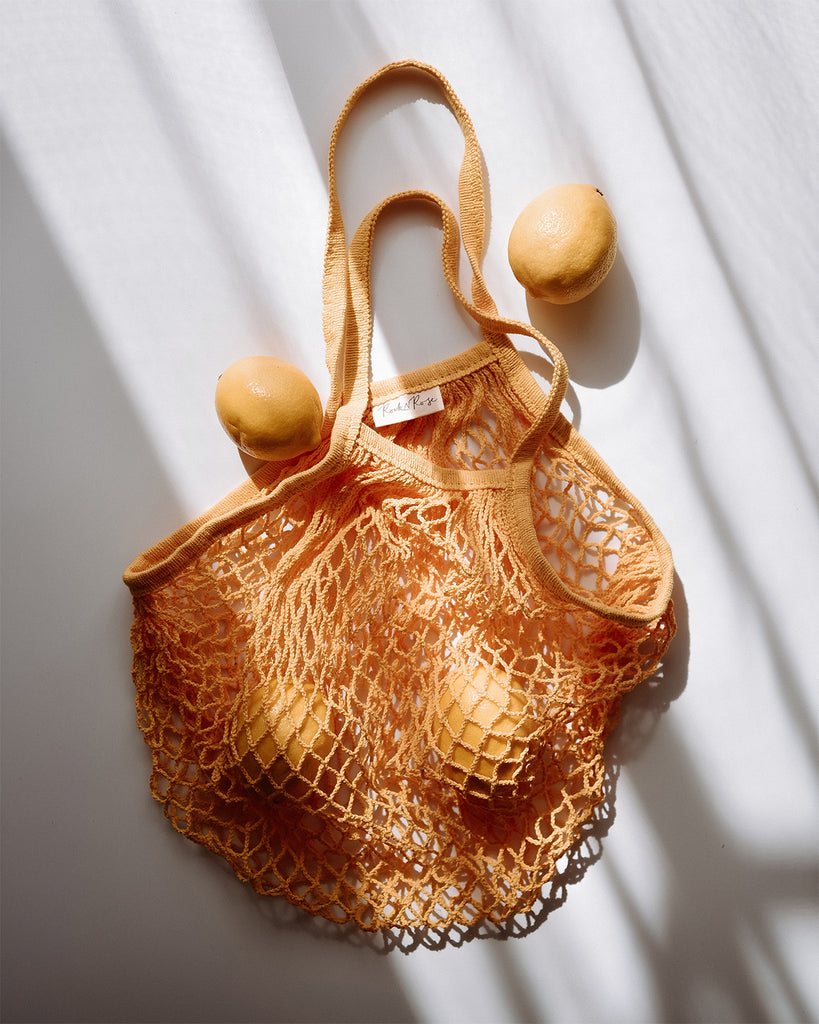 Savannah String Shopper Bag - Yellow