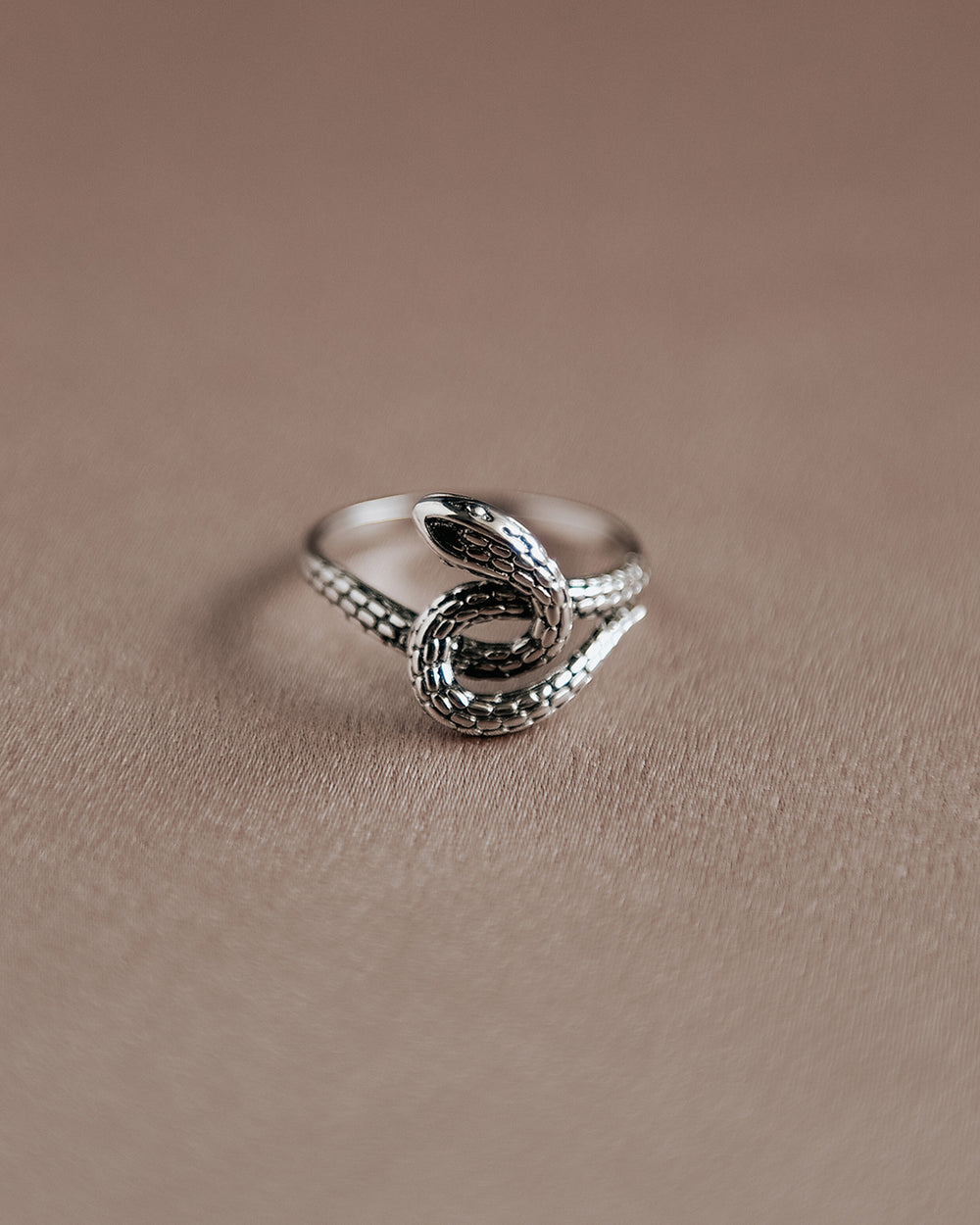 Sunday Sterling Silver Snake Ring