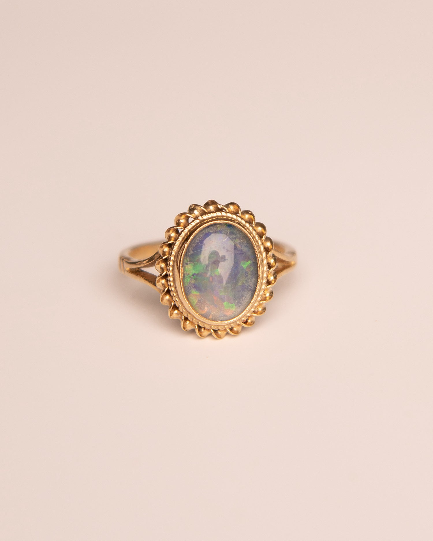 Aretha 9ct Gold Opal Ring
