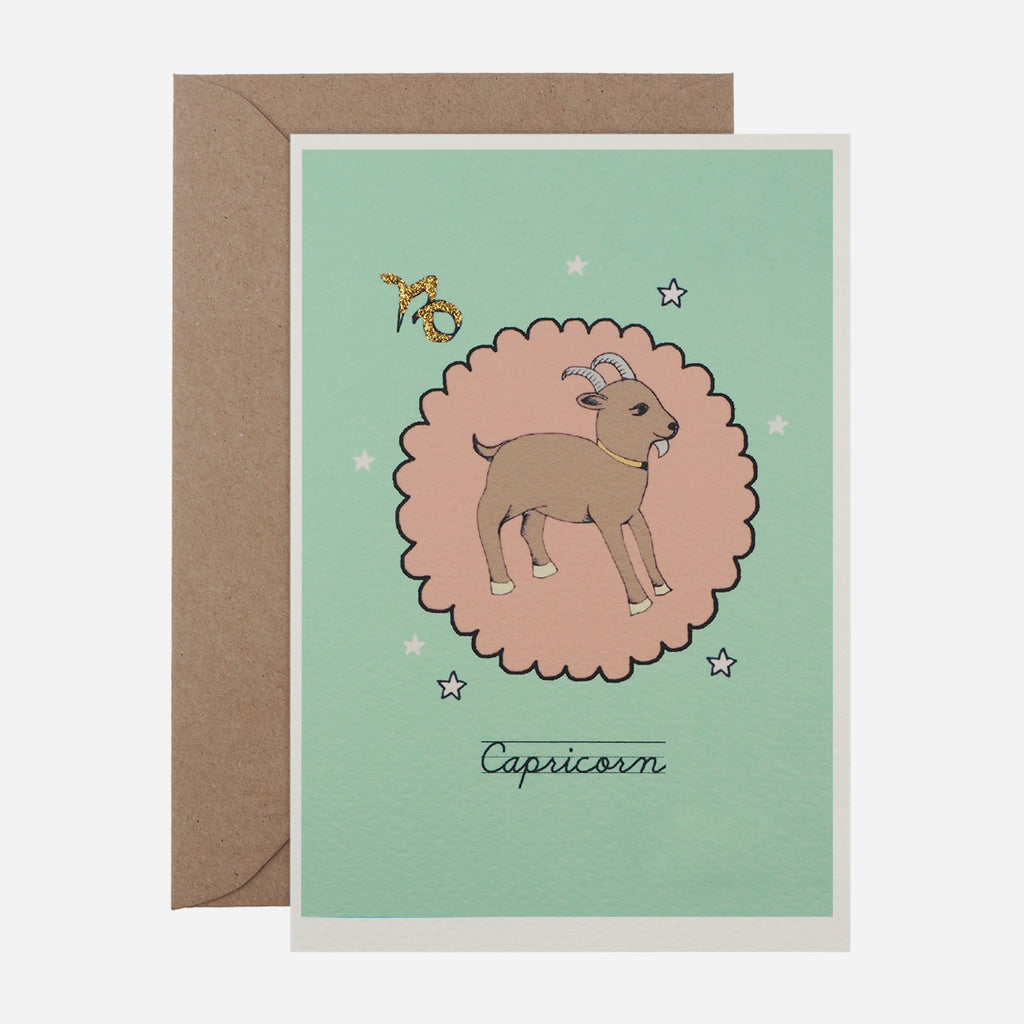Zodiac Greetings Card
