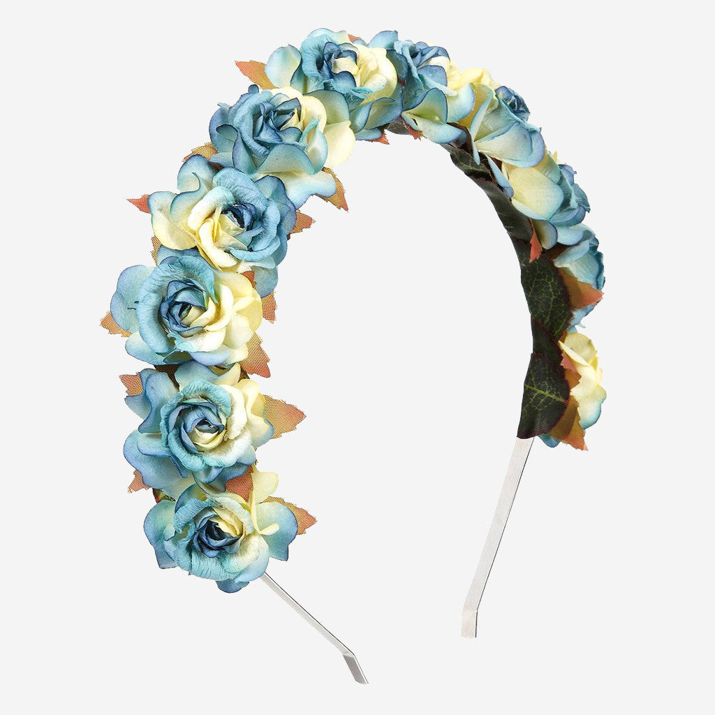 Image of CLARA Floral Crown Headband