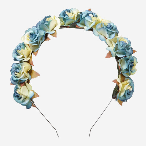 CLARA Floral Crown Headband