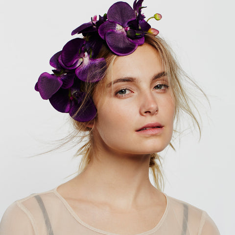TULA Floral Orchid Headband