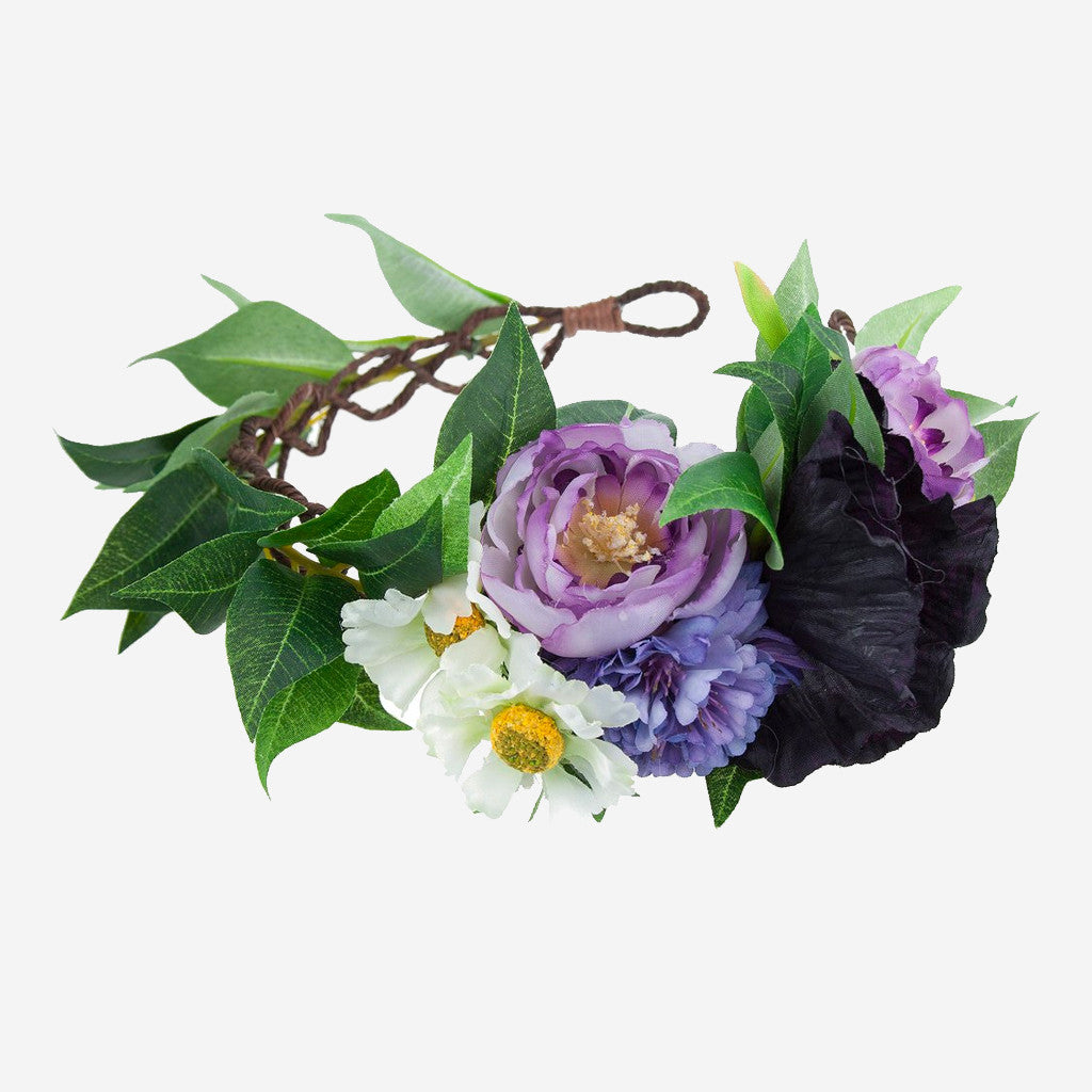 Image of DELILAH Floral Wreath Crown