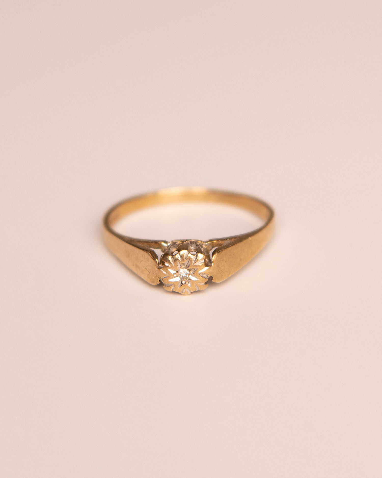 Dorothea 9ct Gold Diamond Ring