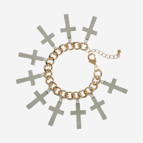 HOLLY Overload Cross Bracelet