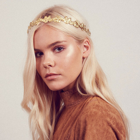 IVY Metal Crown Headband