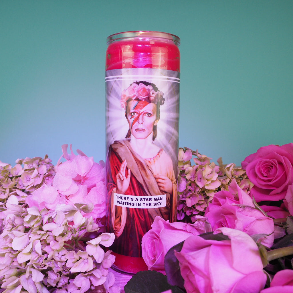Image of Saint Bowie Candle