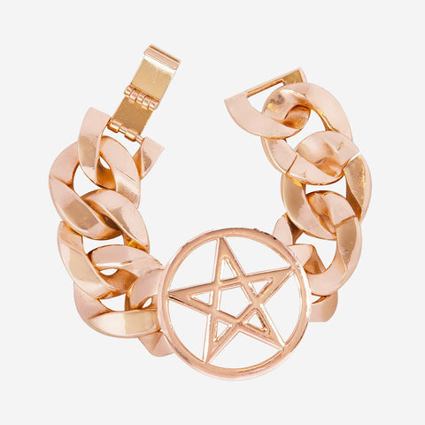 PENTAGRAM Heavy Chain Bracelet