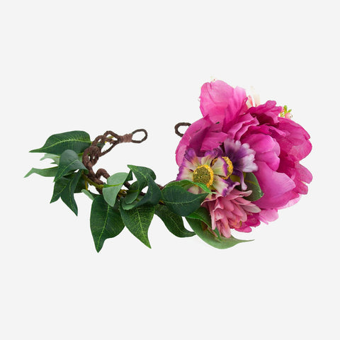 ROSALIE Floral Wreath Crown