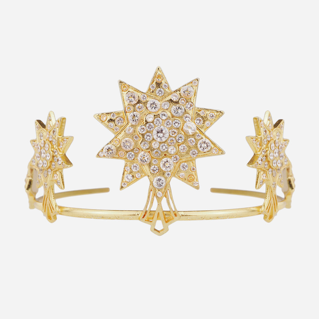 Emilia Pavé Star Crown
