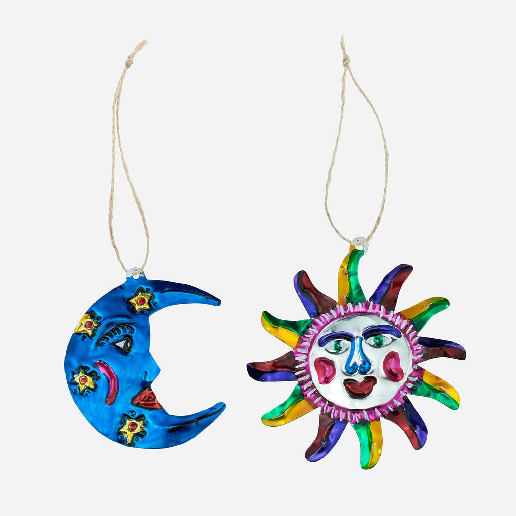 Image of Set of Two Celestial Hanging Ornaments
