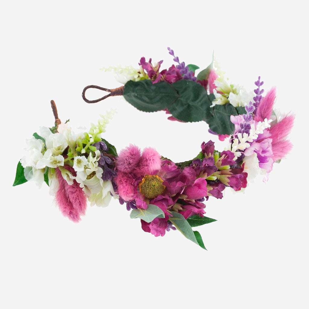 Image of TAYLOR Floral Meadow Crown Headband