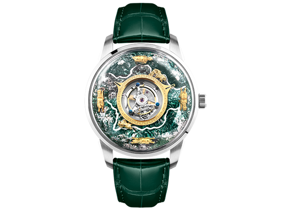 The Six Steeds in the Tang Dynasty Tourbillon Watch