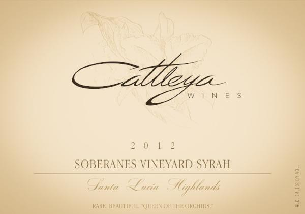 2012 Soberanes Vineyard Syrah