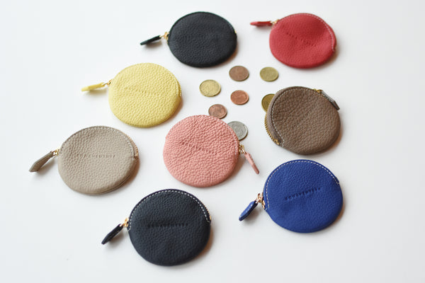 NEW  Round Coin Case