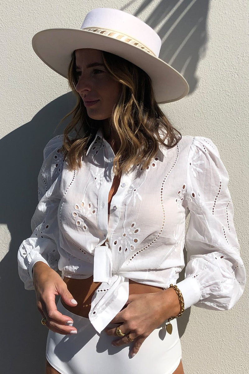 Knowles Blouse White