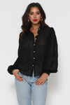 Elise Blouse Black