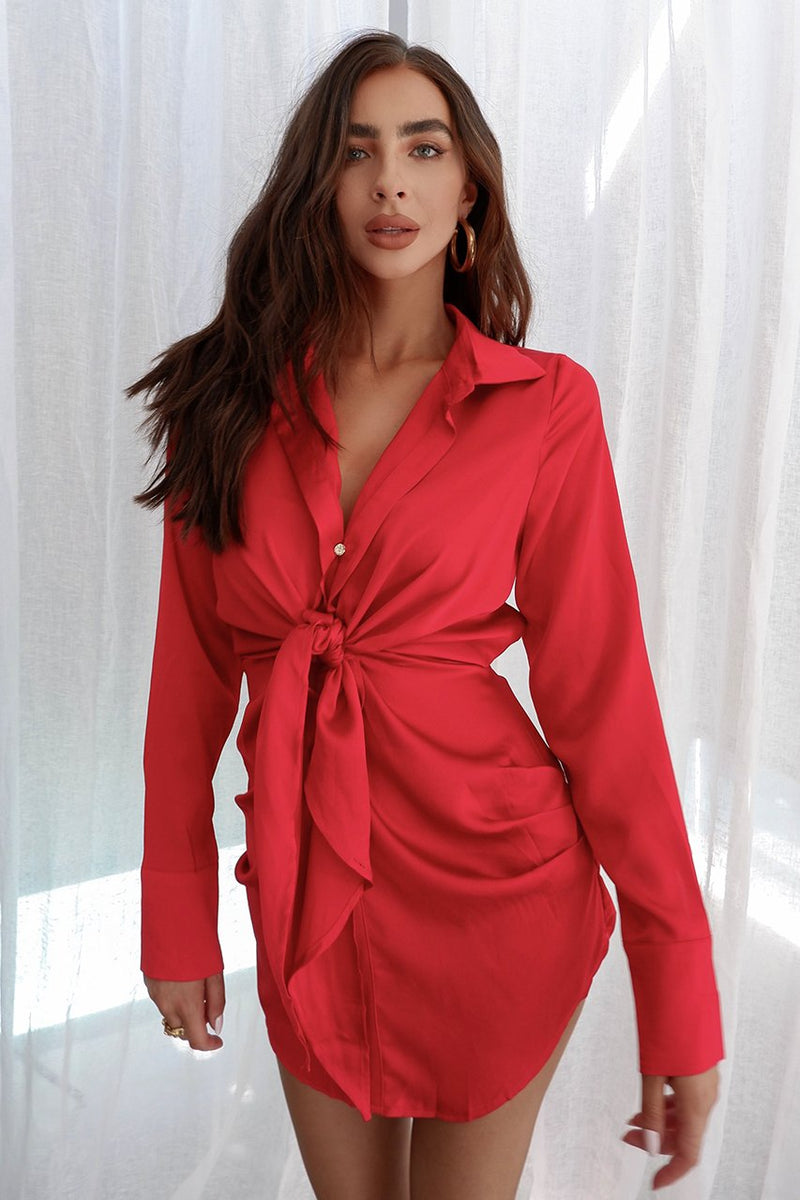 Ruby Dress Red