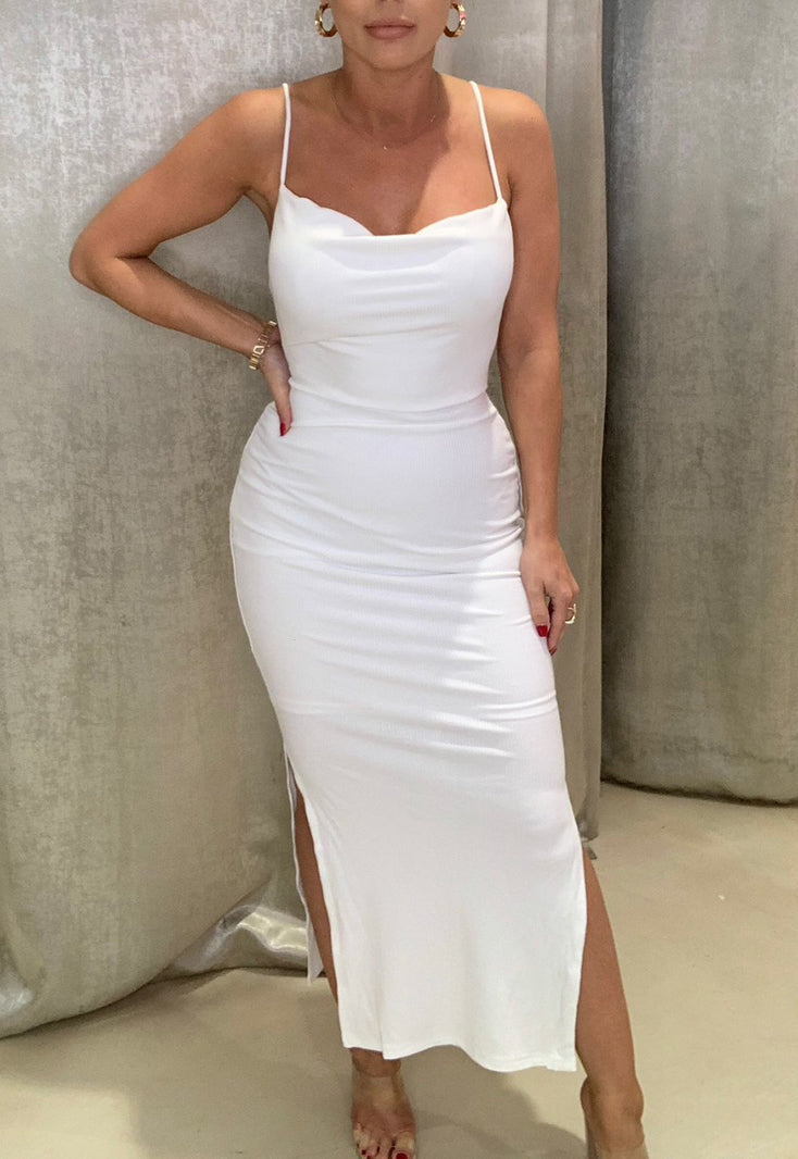 Summer Vibe Dress White