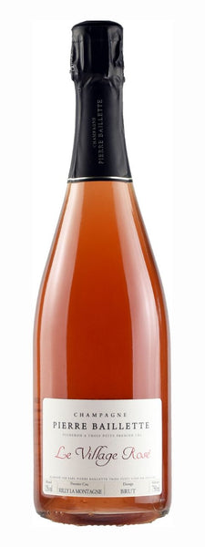 Champagne Pierre Baillette Le Village Rose