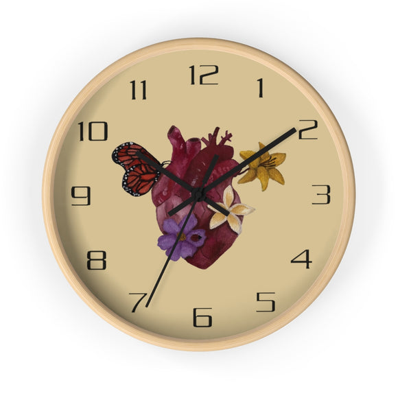 Pollination - Wall Clock
