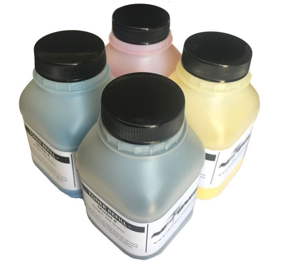 Compatible Color Toner Refill Replacement for Lexmark C3224dw, MC3224adwe, MC3224dwe, C3326dw, MC3326adwe - No Chip