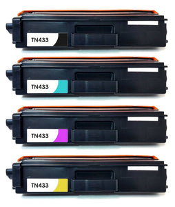 Remanufactured Toner Cartridge Replacement for use in Brother TN-433, TN-431
