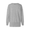 Schulz by Crowd Betty plain knit striktrøje sweater lambswool uld