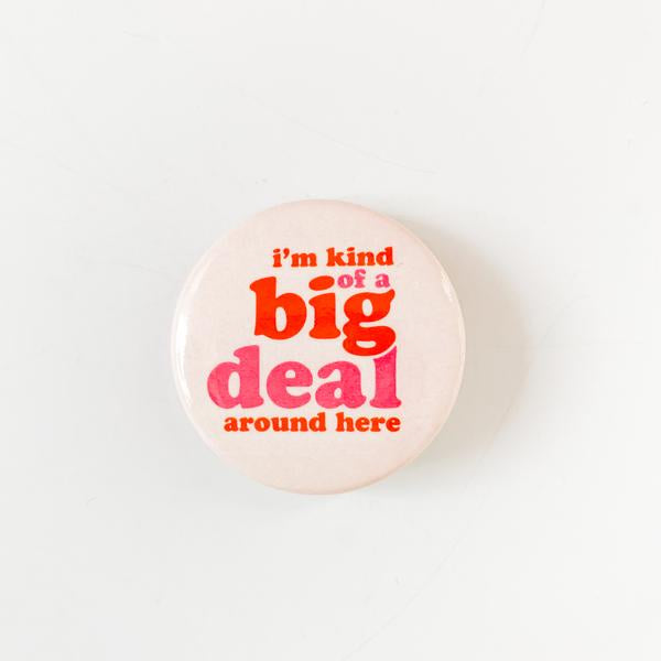 "Retro Big Deal 1.5"" Button"