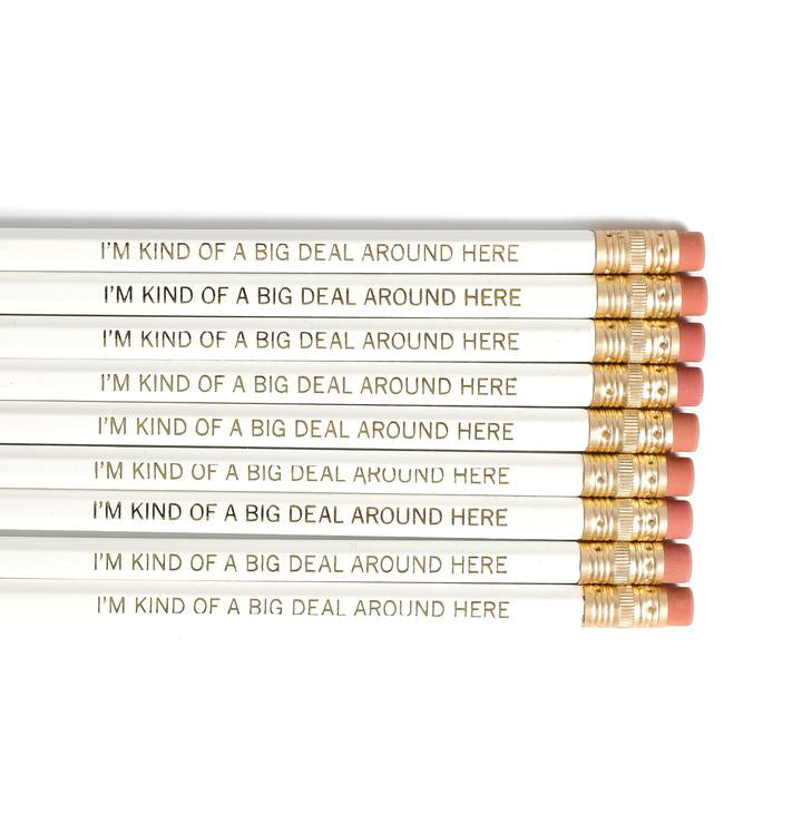 Big Deal - White Pencil Set