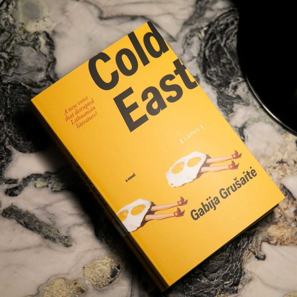 Gabija Grušaitė – Cold East, book in english version