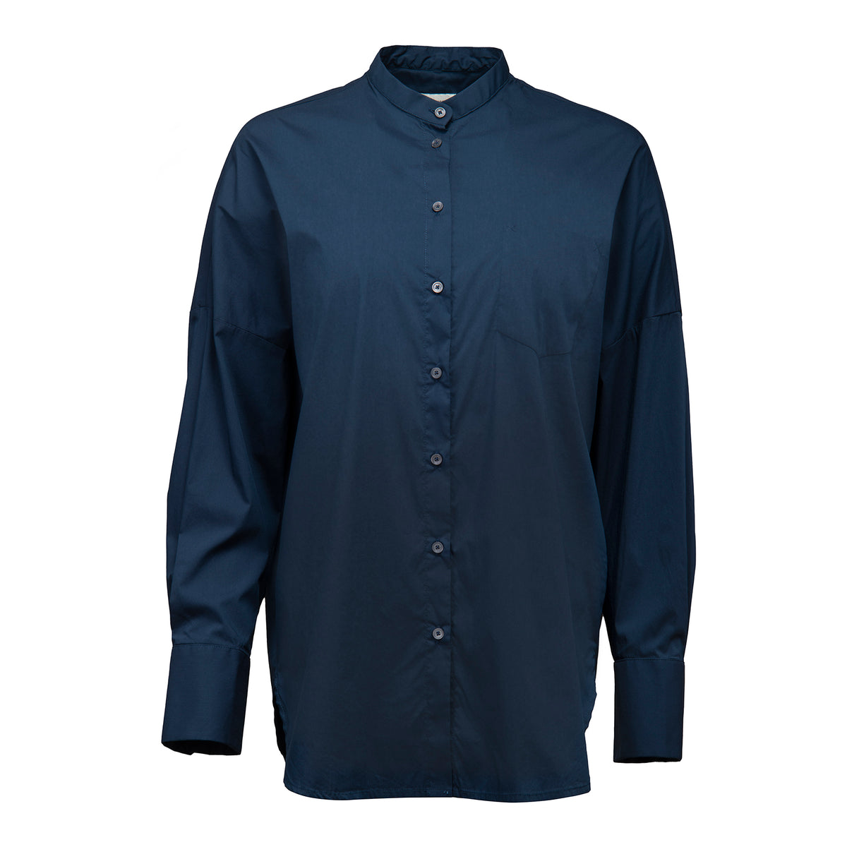 Popeline Stretch Long Shirt