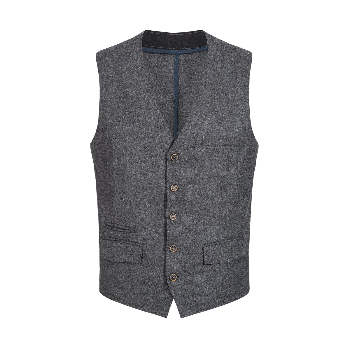 Felted Wool Gilet