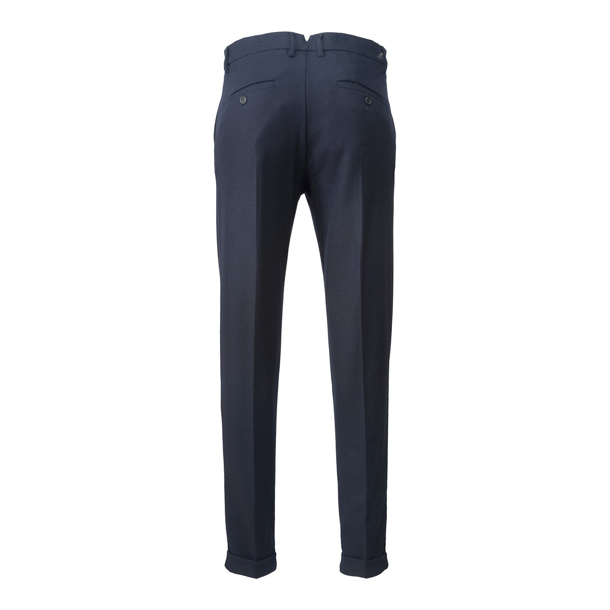 Felted Wool Tailored Chinos