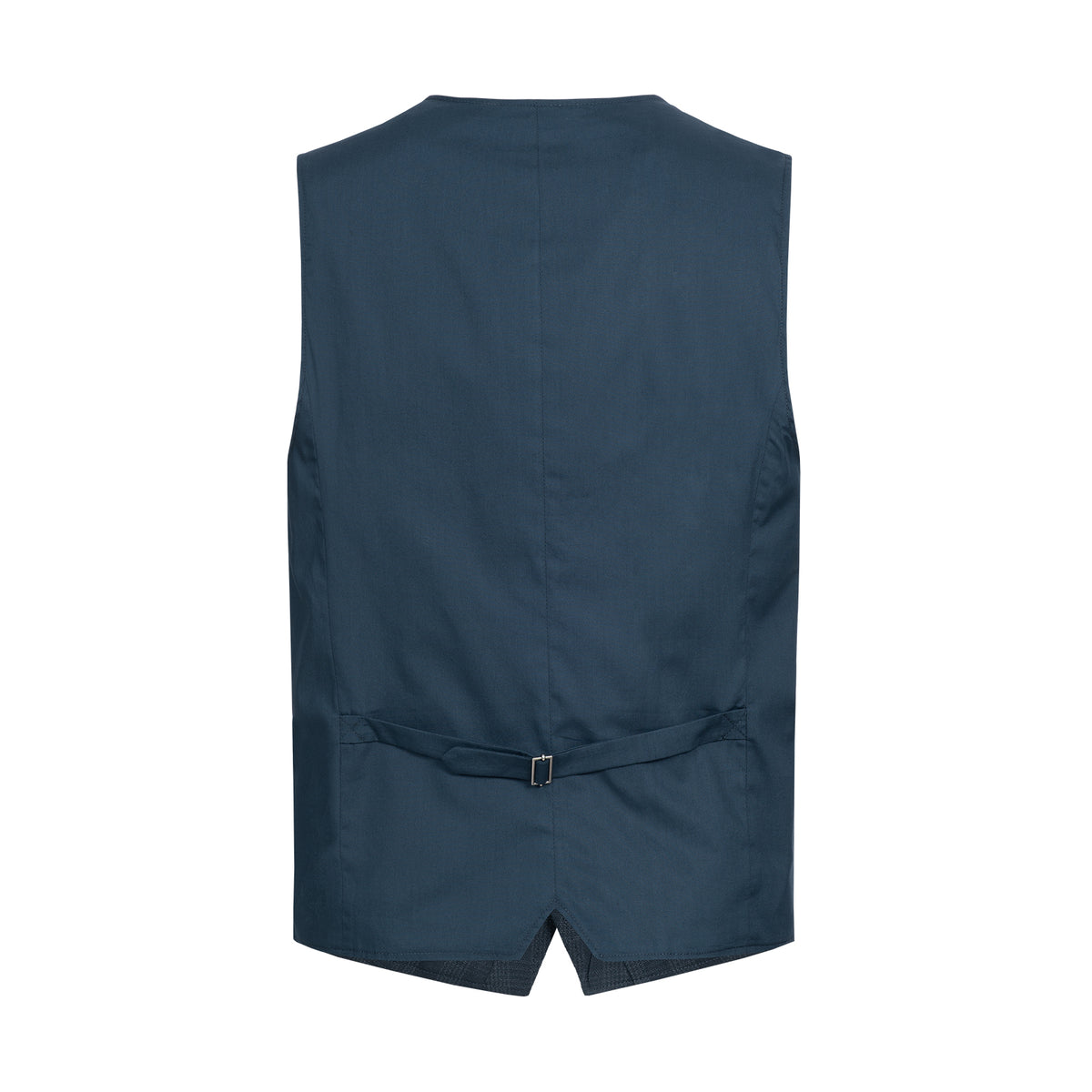 Gilet Cotton Linen Check