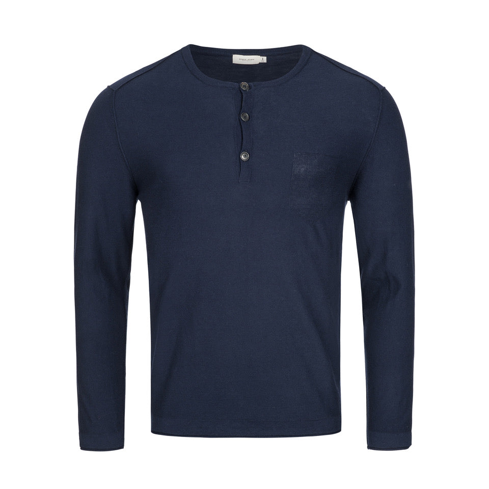 Henley Travel Sweater