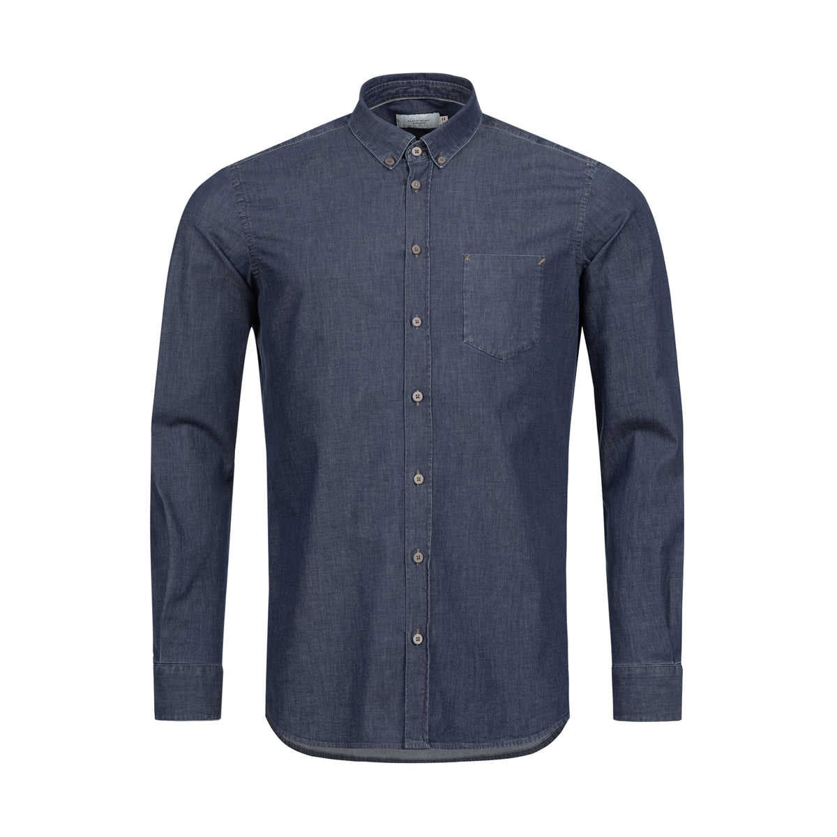 Light Denim Collar Shirt