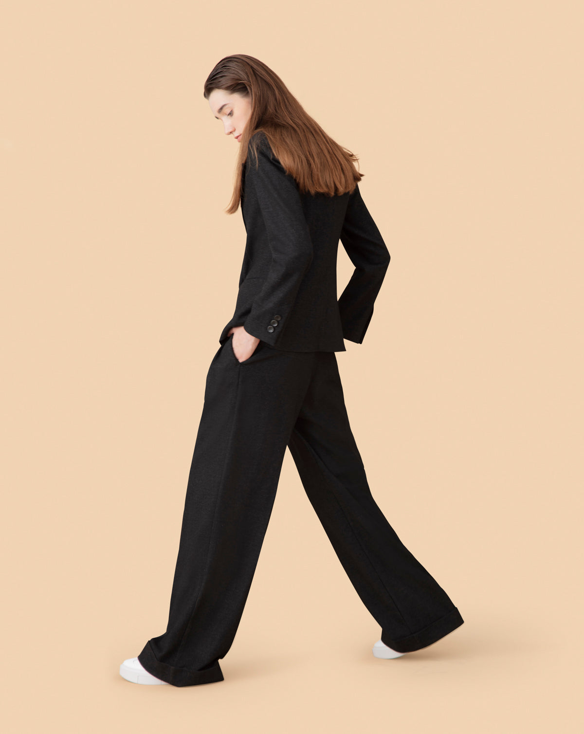 Wool Heritage Pleated Trousers