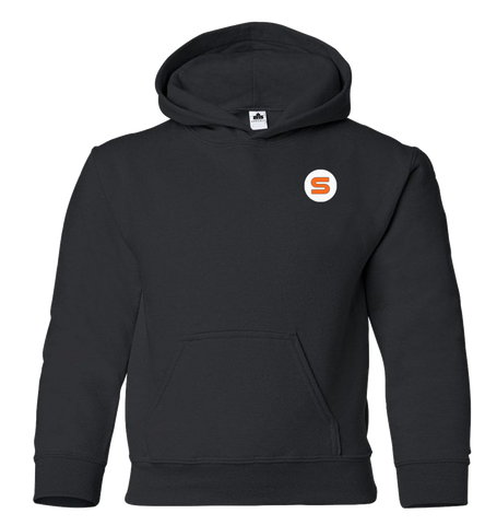 "Stout Gloves Hoodie "" For Those Who Work Where Others Wont"" - BLACK"