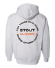 "Image of Stout Gloves Hoodie "" For Those Who Work Where Others Wont"" - HEATHER GREY"