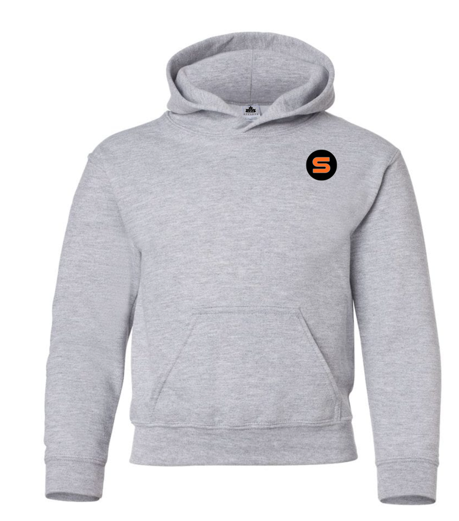 "Stout Gloves Hoodie "" For Those Who Work Where Others Wont"" - HEATHER GREY"